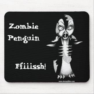 Pingüino del zombi: ¡Ffiiissh! Tapete De Ratones