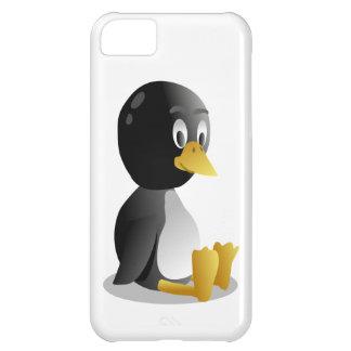 Pingüino-Dibujo animado Funda Para iPhone 5C