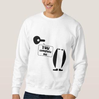 Pingüino divertido suéter