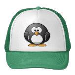 Pingüino elegante gorras