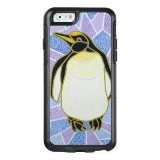 Pingüino en el vitral funda otterbox para iPhone 6/6s