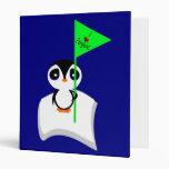 Pingüino en muestra de los pingüinos del corazón d