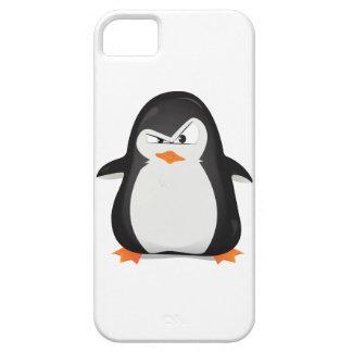 Pingüino enojado funda para iPhone SE/5/5s