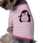 Pingüino enojado ropa perro