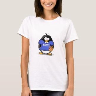 Pingüino feliz de Jánuca Playera