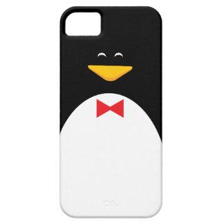 Pingüino feliz iPhone 5 carcasa