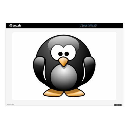 Pingüino feliz portátil skin