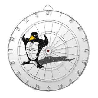 Pingüino fuerte tablero dardos