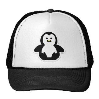 pingüino gorras