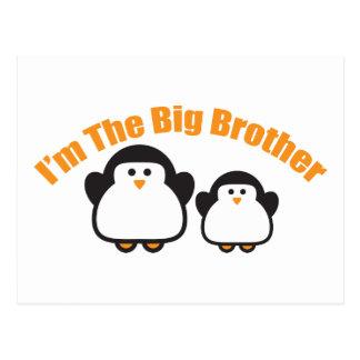 Pingüino grande de Bro Tarjeta Postal