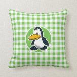 Pingüino; Guinga verde Almohadas