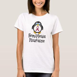 Pingüino hemiplégico de la conciencia de la playera