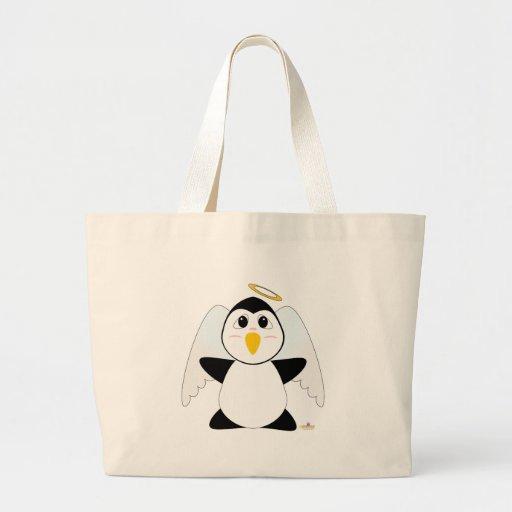 Pingüino Huggable del ángel Bolsa