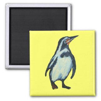 Pingüino Imán Cuadrado
