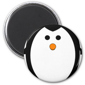 Pingüino Imán Redondo 5 Cm