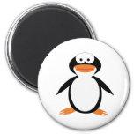 Pingüino. Imán Redondo 5 Cm