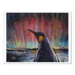 Pingüino Invitación 10,8 X 13,9 Cm