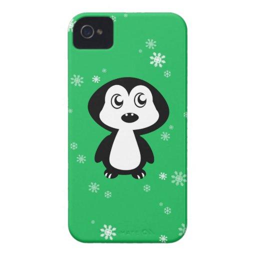 Pingüino iPhone 4 Case-Mate Cárcasa
