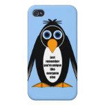 pingüino iPhone 4 coberturas