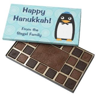 Pingüino judío feliz caja de bombones variados con 45 piezas