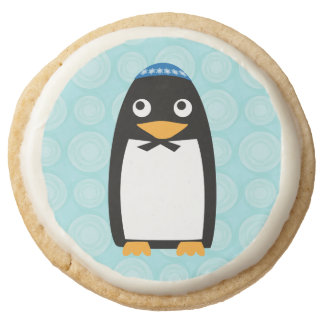 Pingüino judío feliz