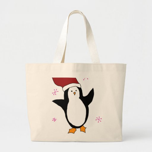 Pingüino lindo bolsa