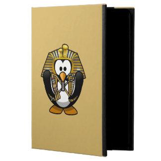 Pingüino lindo de Pharoah del dibujo animado con