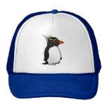 Pingüino lindo de Rockhopper Gorros