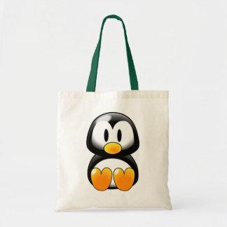 Pingüino lindo del bebé - Customizeable Bolsa De Mano
