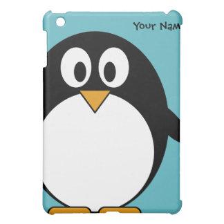 Pingüino lindo del dibujo animado