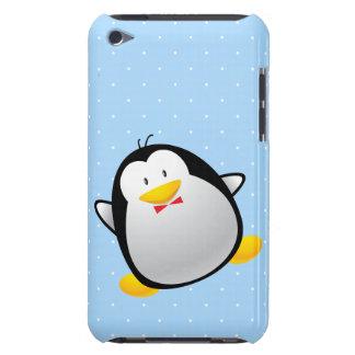Pingüino lindo del dibujo animado barely there iPod carcasa