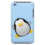 Pingüino lindo del dibujo animado Case-Mate iPod touch carcasa