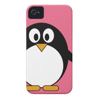 Pingüino lindo del dibujo animado - iPhone 4 4s iPhone 4 Case-Mate Carcasa