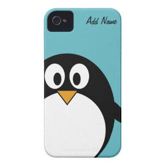 Pingüino lindo del dibujo animado - iPhone 4 4s iPhone 4 Funda