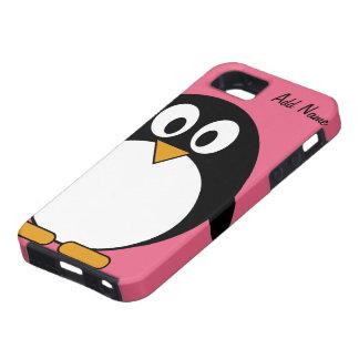 Pingüino lindo del dibujo animado - iPhone 5 iPhone 5 Protector