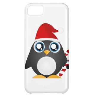 Pingüino lindo del navidad