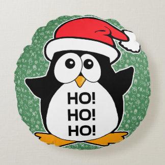 Pingüino lindo del navidad Ho Ho Ho