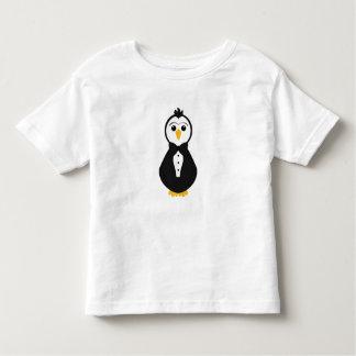 Pingüino lindo del novio tee shirt