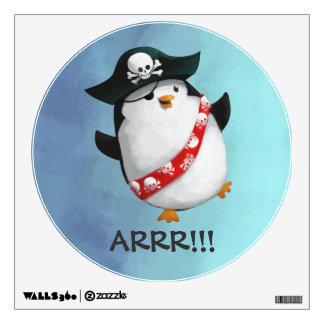 Pingüino lindo del pirata