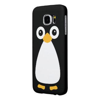 Pingüino lindo del vector funda samsung galaxy s6