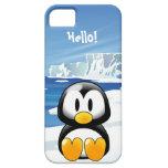 Pingüino lindo funda para iPhone SE/5/5s