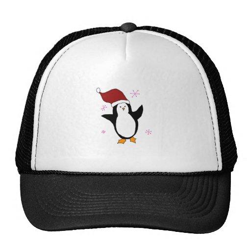 Pingüino lindo gorra