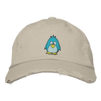 pingüino lindo gorra de béisbol bordada