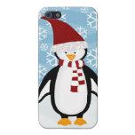 Pingüino lindo i iPhone 5 fundas
