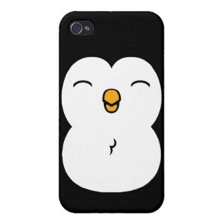 Pingüino lindo iPhone 4 cárcasa