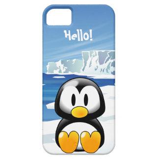 Pingüino lindo iPhone 5 Case-Mate coberturas
