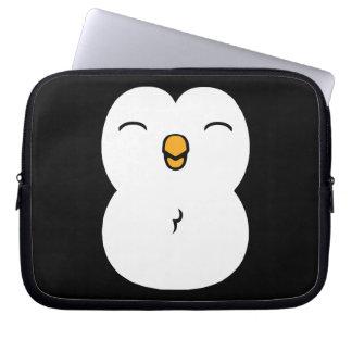Pingüino lindo manga portátil
