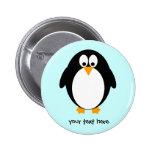 Pingüino lindo pin