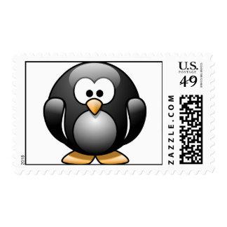 ¡Pingüino - lindo! Franqueo