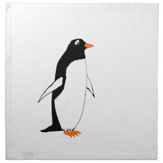 Pingüino lindo servilletas
